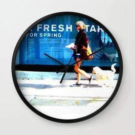 A Fresh Tart Wall Clock