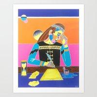 Searching Inspiration Art Print