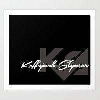 KoffaSlyusarSignature Art Print