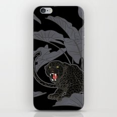 Black Panthers on Black. iPhone Skin