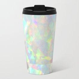 Milky White Opal Travel Mug