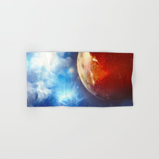 Sunsets on Mars are Blue Hand & Bath Towel