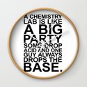 A CHEMISTRY LAB IS LIKE A BIG PARTY by moleculestore