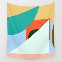 IN AND OUT no.1 Wall Tapestry