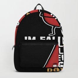My blood type is kebab Backpack