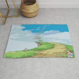 The Cliff Steps Rug