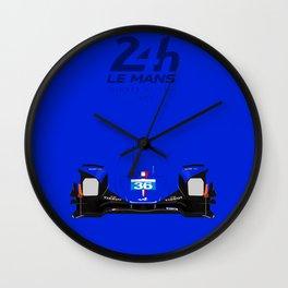 Minimal Alpine a460 Le Mans 2016 Wall Clock