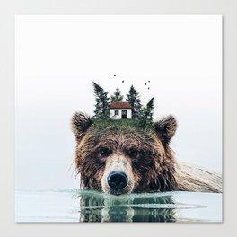 House Guardian Canvas Print