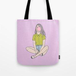 Bubblegum Tote Bag