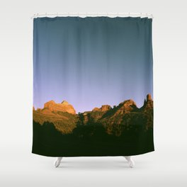 Sedona Sunset Shower Curtain