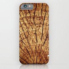 Burnt sun tree iPhone 6s Slim Case