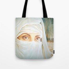 Tears in the desert Tote Bag
