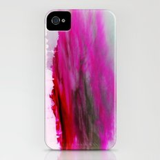 Purple Clouds Red Mountain Slim Case iPhone (4, 4s)