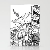 conan Stationery Cards featuring Worlds within Worlds by KadetKat