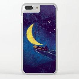 Stars Sailor Clear iPhone Case