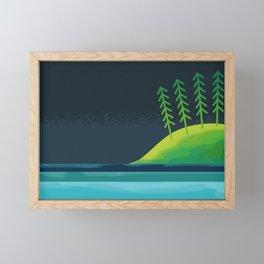 woods Framed Mini Art Print