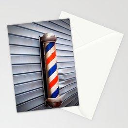 Vintage Barber Pole Stationery Cards