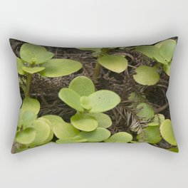 Enchanted Fairy Leaves in Exotic Rain Forest Rectangular Pillow