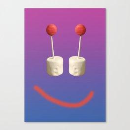 Smile dum dum Canvas Print