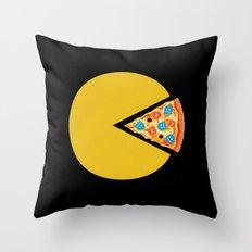 Pizza-Man Throw Pillow