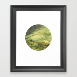 Shapes Of The Future: I Framed Art Print
