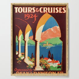 affiches Tours and Cruises Serving Tray