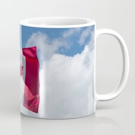 Sun, Clouds and Canadian Flag Coffee Mug