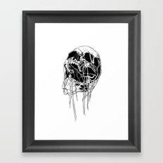 Skull 1 Framed Art Print