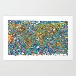 tHE ARTk Art Print