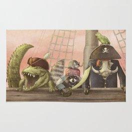 Pirates! Rug