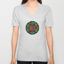 The Flower of Life (Sacred Geometry) 2 Unisex V-Neck
