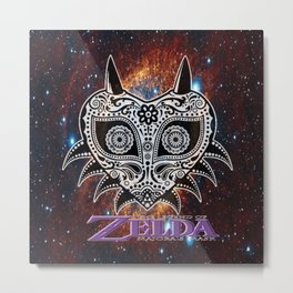 Zelda Majora's Mask Metal Print