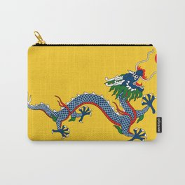 Chinese Dragon - Flag of Qing Dynasty Carry-All Pouch