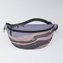 Autumnal Air around the Palm Tree Fanny Pack