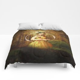 Autumn Woodland Fairy Comforters
