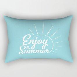 Enjoy the summer Rectangular Pillow