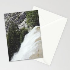 yosemite waterfall Stationery Cards