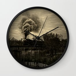 Steam Wall Clock