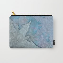 Snowflakes and Ice Carry-All Pouch
