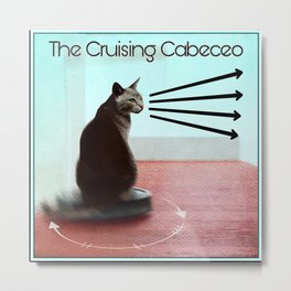 The Cruising Cabeceo Metal Print