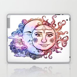 colored Sun and Moon Laptop & iPad Skin