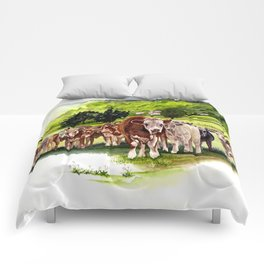 Herd It Throught the Grapevine Comforters