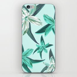 Quote - Work hard Stay Humble - Flower iPhone Skin