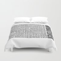 whatever Duvet Covers featuring Whatever by VirgoSpice