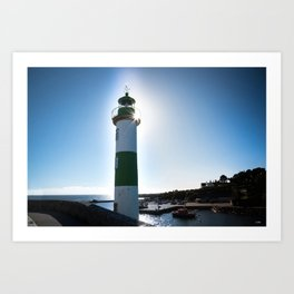 un far en Bretagne Art Print