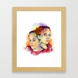 Odesza  Framed Art Print