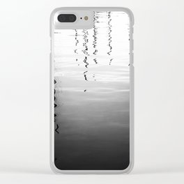 Ripples And Reflections 4 Clear iPhone Case