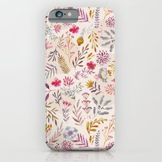 Light floral Slim Case iPhone 6s