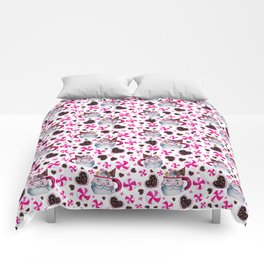 Santa Candy Cup Comforters