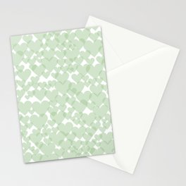 Green harts Stationery Cards
